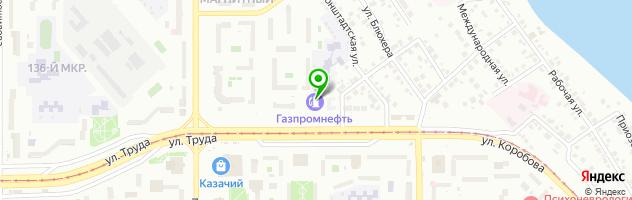 Центр тонирования автостекол — схема проезда на карте