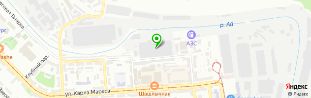 "Клуб ""Дракула"" — схема проезда на карте"