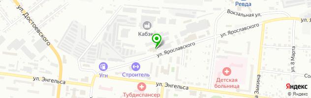 Автосервис Webasto — схема проезда на карте