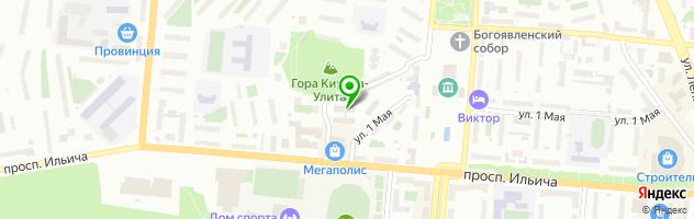 Копировальный центр А4 — схема проезда на карте