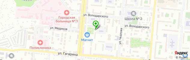 Ноутбук-сервис БЕЗОТКАЗОВ — схема проезда на карте