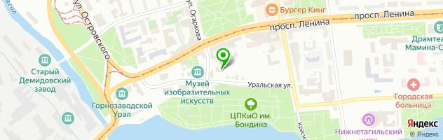 Кафе Раут — схема проезда на карте