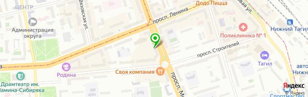 Медицинский центр Элинта — схема проезда на карте