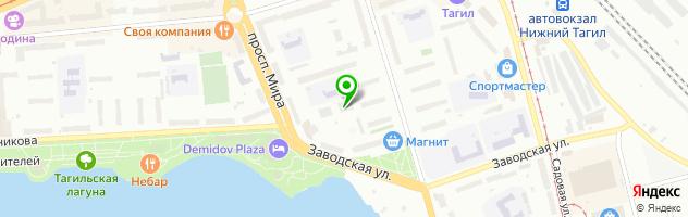 Медицинский центр Олмед-Т — схема проезда на карте