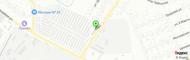 Производственно-коммерческая фирма Крона — схема проезда на карте
