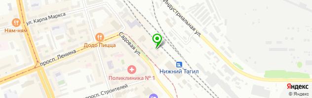 Кафе На полустаночке — схема проезда на карте