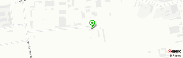 Автомобильная школа ДОСААФ России — схема проезда на карте