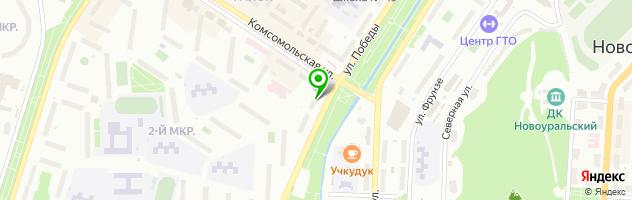 АС-Сервис — схема проезда на карте