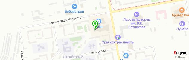 Центр по продаже и ремонту сотовых телефонов Мир связи — схема проезда на карте