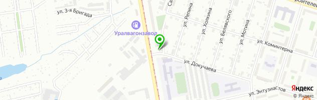 Автошкола Фаворит-Авто — схема проезда на карте