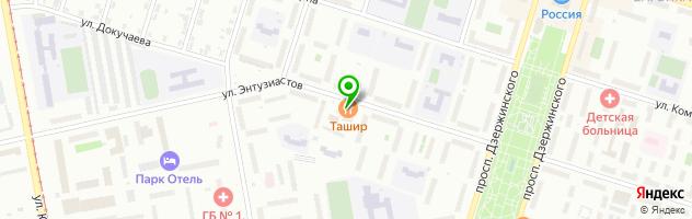 Ресторан Рыцарь — схема проезда на карте
