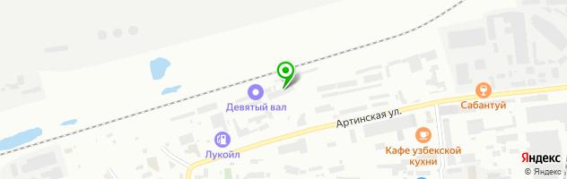 """ООО """"АвтоКласс"""" — схема проезда на карте"""