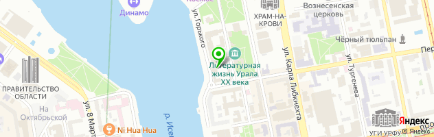 Институт дизайна — схема проезда на карте