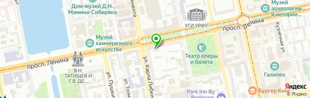 Ресторан Maccheroni — схема проезда на карте