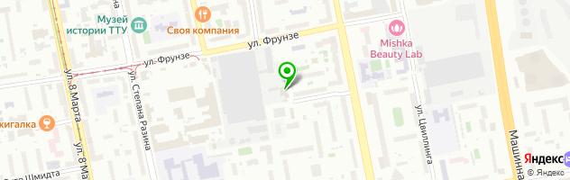 Автотехцентр АВТОРИТЕТ — схема проезда на карте