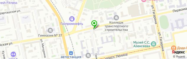 Медицинская клиника Детский доктор — схема проезда на карте