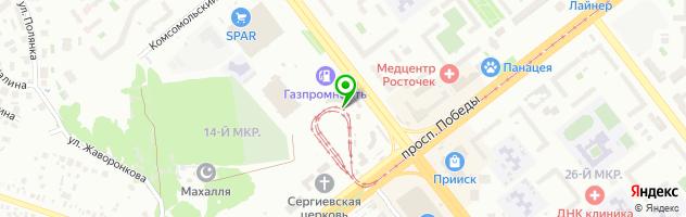 Танцевальный кафе-бар КрисС — схема проезда на карте