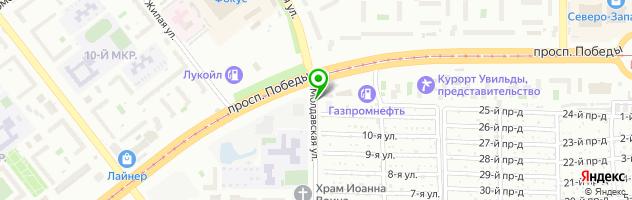 Детейлинг центр АВТОБЛЕСК — схема проезда на карте
