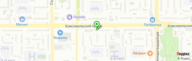 Рестопаб Хмельной Бакинец — схема проезда на карте