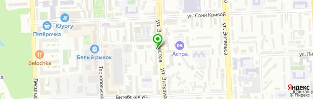Кафе Запеканка — схема проезда на карте