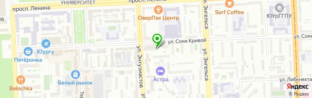 Бар Citybar — схема проезда на карте