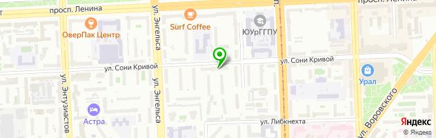 Ресторан Декамерон — схема проезда на карте