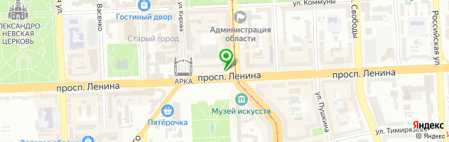 Кофейня Bluberry — схема проезда на карте