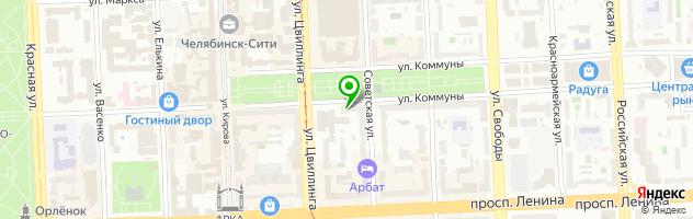 Ресторан Redactor — схема проезда на карте