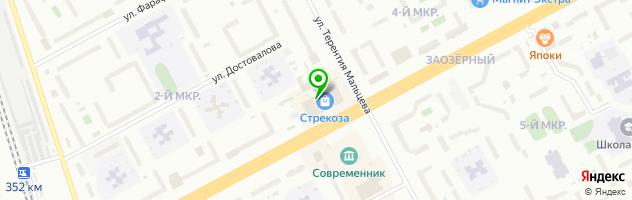 Фотосалон Фотки — схема проезда на карте