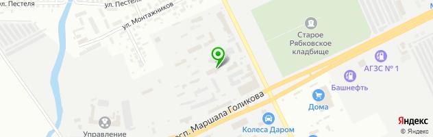 Автоцентр Авторемонтная зона — схема проезда на карте