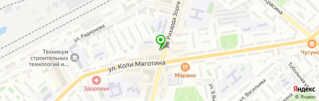 Ресторан Mamma Mia — схема проезда на карте