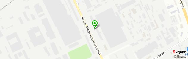 Торгово-монтажная компания Климат45 — схема проезда на карте