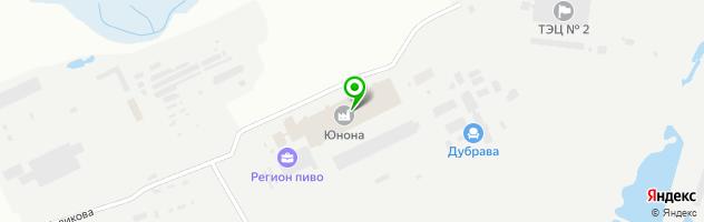 Торгово-производственная компания САВО — схема проезда на карте