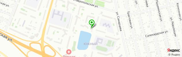 Банкетный зал Айсберг — схема проезда на карте