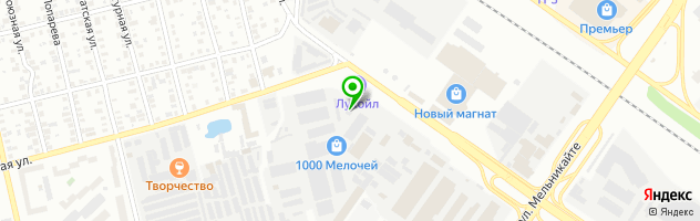 Спа Отель Лагуна — схема проезда на карте