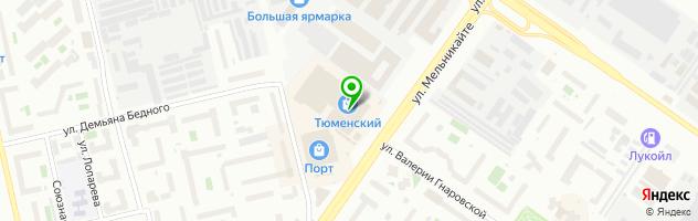 Торгово-сервисная компания ПрофСервис — схема проезда на карте
