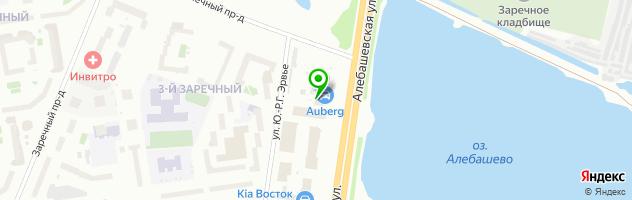 Ресторан Karl Benz — схема проезда на карте