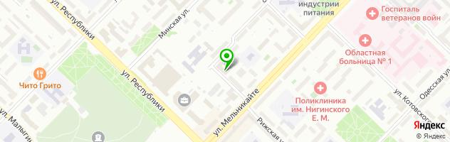 Торгово-сервисная компания Bar Service — схема проезда на карте
