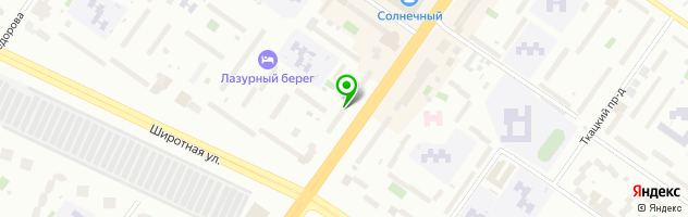 Центр биомедицины врача Бирюлиной — схема проезда на карте