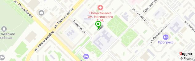 Оптово-розничный салон оптики — схема проезда на карте