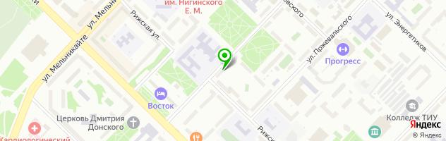 Сервисный центр BST Service — схема проезда на карте