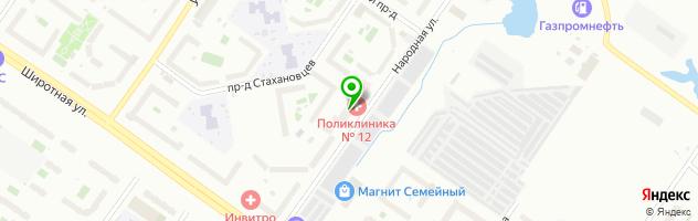 Эдельвейс-АН — схема проезда на карте
