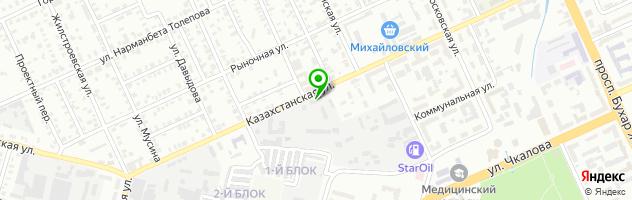 KRG's Entourage Quest — схема проезда на карте