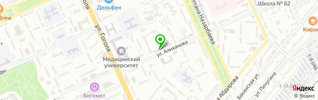 Типография Идиллия tip — схема проезда на карте
