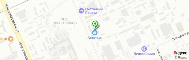 Автоцентр Анкор-96 — схема проезда на карте