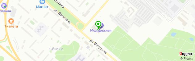 Ресторан Гелиос — схема проезда на карте