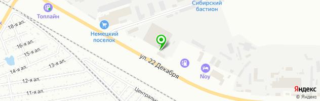 Компания по изготовлению дубликатов государственных регистрационных знаков на автомобили Трансмет-Омск — схема проезда на карте