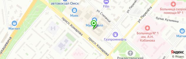 """Кафе """"Калинка"""" — схема проезда на карте"""