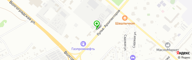 ИнОйл — схема проезда на карте
