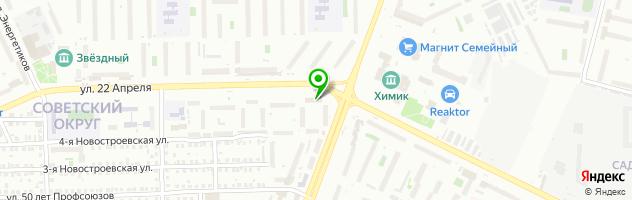 Стоматологическая клиника Ювидент — схема проезда на карте